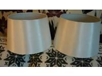 Two new Meduim lamp shades