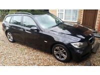 BMW 320D SE TOURING - BLACK - MANUAL – FSH – 141K MILES