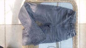 Grey Denim Super Skinny Next Jeans - 12 yrs