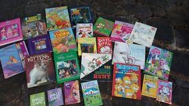 Huge selection bundle of 25 children books Hardcover
