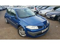 Renault Megane 1.6 VVT Dynamique 5dr, GOOD CONDITION, 1 YEAR MOT, DRIVES NICE & SMOOTH, P/X WELCOME