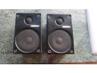 Goodmans vintage bookshelf speakers