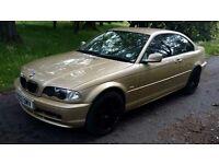 BMW 318ci SE Auto 2L, 02, **MOT MAY 2018** 113,000 GENUINE LOW MILES *NOT MANY LIKE IT