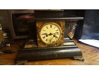 Antique Waterbury Mantle Clock