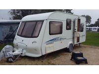 Touring caravan elddis firestorm 505 2004 5 berth