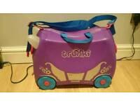 Trunki purple suitcase