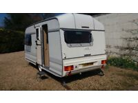 Lunar Meteor 2 berth caravan. Superb condition. One owner from new.