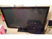 Big TV that is a bit broken