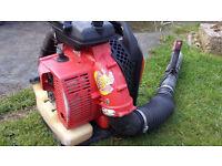 komatsu zenoa petrol leaf blower bac pac type