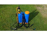 16 Litre Knapsack Sprayer - Allman A-16 Professional Quality - Very Good Condition