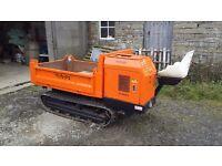 Kubota KC120 track dumper