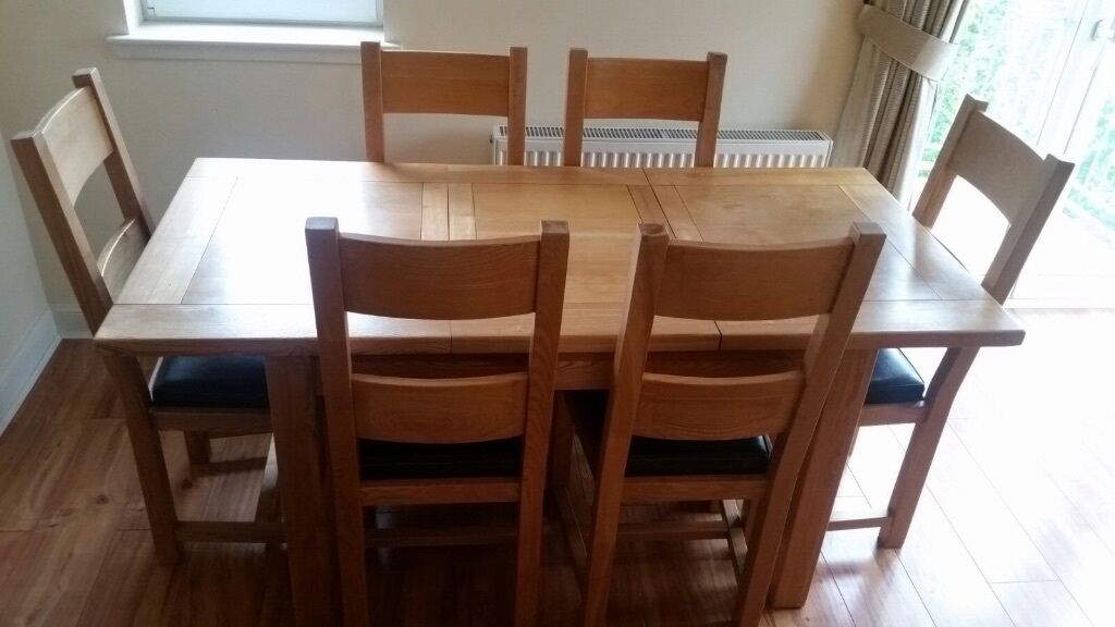 Halo Dining Table And 6 Chairs