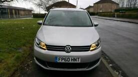 2010 Volkswagen Touran 1.6TDI ( 105ps )** AUTOMATIC ! Like sharan/vauxhall zafira/seat/Ford