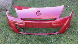 Clio front bumper