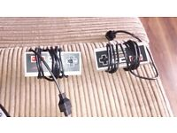 set of two original nes controllers