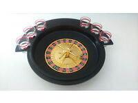 NEW Shot Glass Roulette Drinking Game
