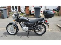 SINNIS JS125 Motorcycle Great First Bike or Comuter