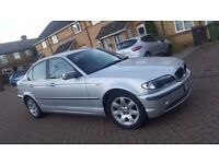 2002 (02) BMW 3 SERIES E46 320i SE 2.2L PETROL MANUAL 4DR SALOON MOT MAY 17 HPI CLEAR SUPERB DRIVE