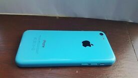 Iphone 5c blue 8gb O2
