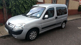 Silver Peugeot PARTNER COMBI TOTEM 1.4l 5dr Petrol, Wheelchair adapted with winch