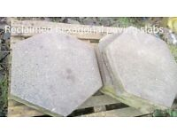 Hexagonal concrete pavers ONLY 20 LEFT* reclaimed
