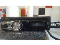 Jvc car cd player/mp3