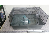Large Hamster Cage With Tubes