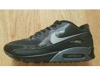 Nike air Max 90 Hyperfuse Black Reflective .. uk 10