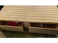 Single bed with mattress for sale (quick sale needed)