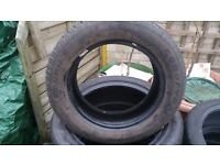 Goodyear Eagle Touring 65/65-R14 excellent tread