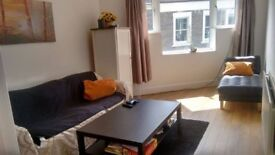 Sunny, spacious double bedroom in a newly decorated flat, near the Downs, available now