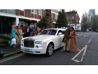 Wedding Car hire | Rolls Royce Hire | Rolls-Royce Phantom Hire | Chauffeuring | Chauffeur Driven
