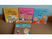 Charlie & Lola set of 3 hardback books