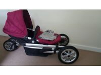 Baby Push chair and Car seats for sale