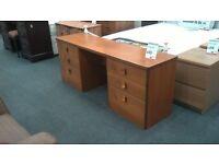 Teak Solid Wood Dressing Table at BHF Glasgow