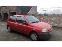 Renault Clio for sale Kilrea (not bora, corsa, golf, polo)