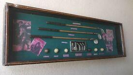 Vintage Golf Club display set - Great unusual gift.