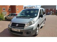 2007 (57) FIAT SCUDO TAXI 2.0 HDI SCOTCAB CONVERSION HACKNEY SPEC PEUGEOT EXPERT CITROEN DISPATCH