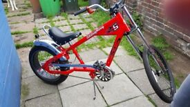 Schwinn Stingray Chopper Bike