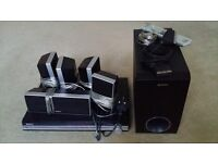 Sony DVD Home Theatre System DAV-DZ30 (with 5.1 Surround Sound Speakers + Remote + Scart lead) £30