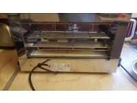 Commercial Grill Toaster & Salamander 150 slices/hour | Adexa TS01E