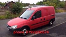 vauxhall combo cdti 1.3 turbo diesel 2008 08 plate connect caddy