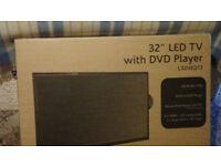 Logik 32 inch TV & DVD player