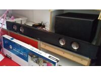 Bush 200w bluetooth soundbar with sub