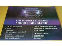 L.M.H Service & Repairs- All Mot Arrangements including vehicle collection & Delivery