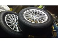 "BMW 5series 16"" alloys and tyres x5"