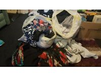 QUCK SELL £15 - xTWO Bin Bags of Women's Size 12 clothes - Bundle/ assortment