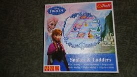 frozen games bundle-Snakes and Ladders, memory, puzzle