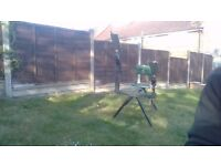 Manual Seated Double Clay Pigeon Trap