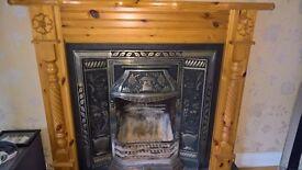 cast iron fire place £190 ono
